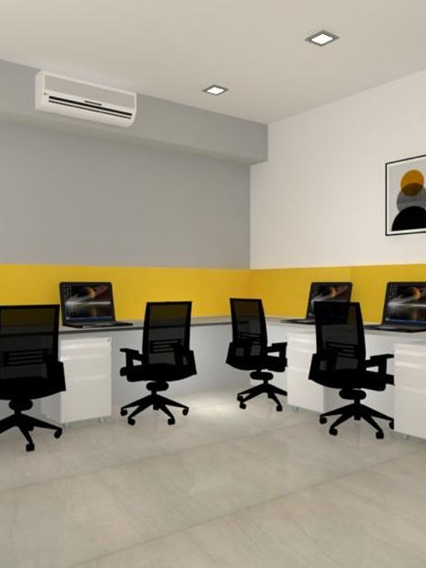 1015 Sq Ft Funished office For Rent In Maple Trade Center Thaltej