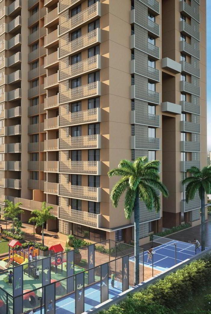 Flats For Sale in Sharanya Skyvue Thaltej, Ahmedabad.