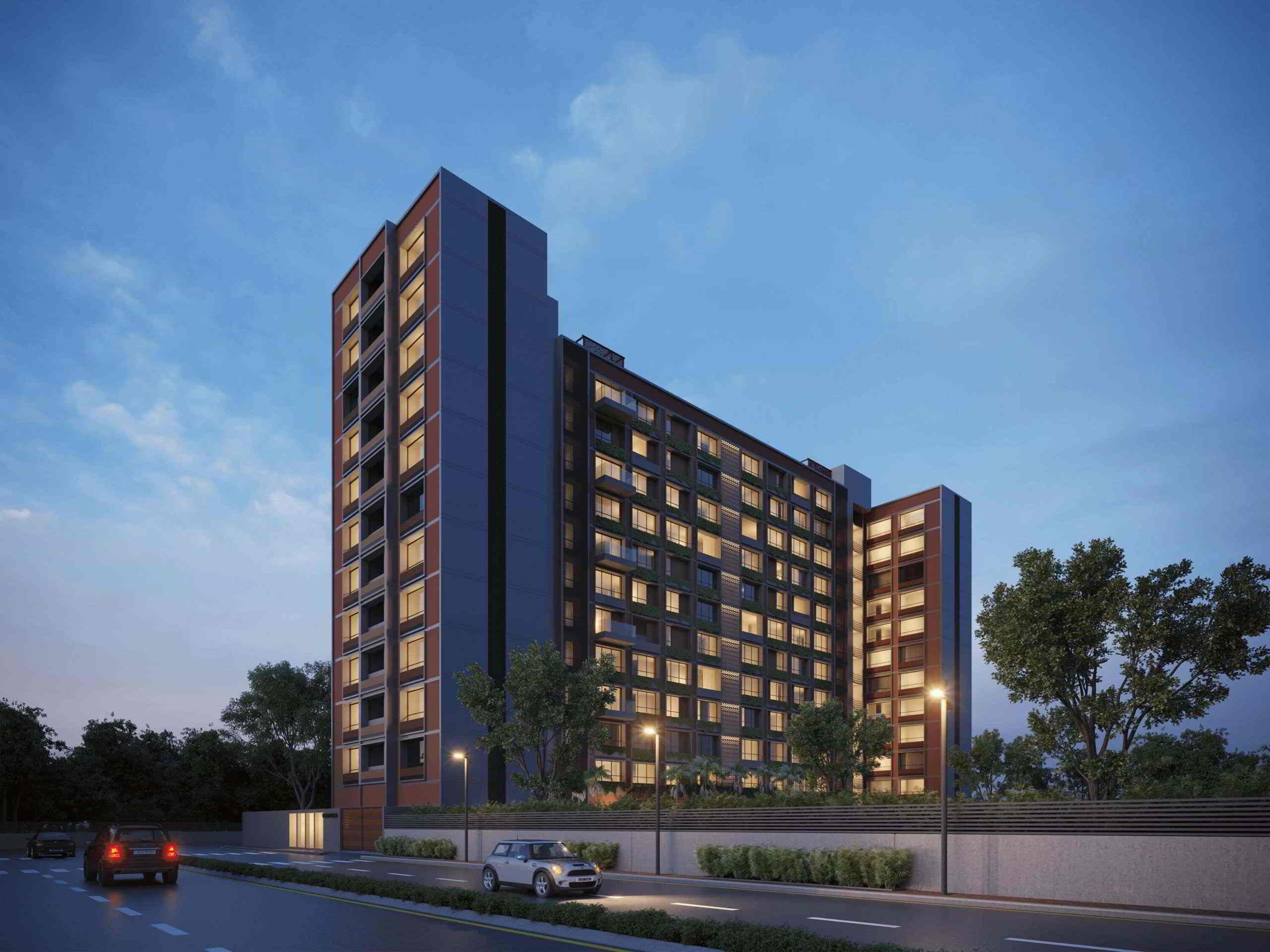 Flats For Sale In Zion Windfield Thaltej Shilaj Road, Thaltej Ahmedabad.