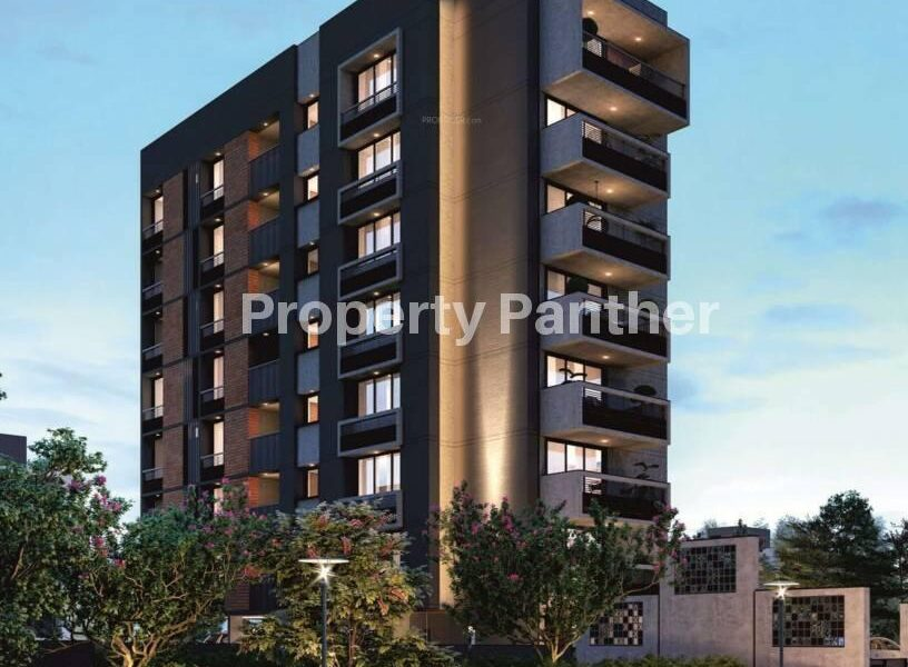 4 BHK Flat For Sale In Bhagwat Altimus Thaltej Ahmedabad.