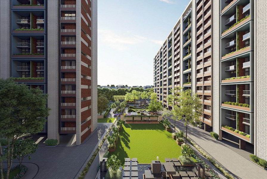 4BHK Flat For Sale In Silver Luxuria Jagatpur Ahmedabad.