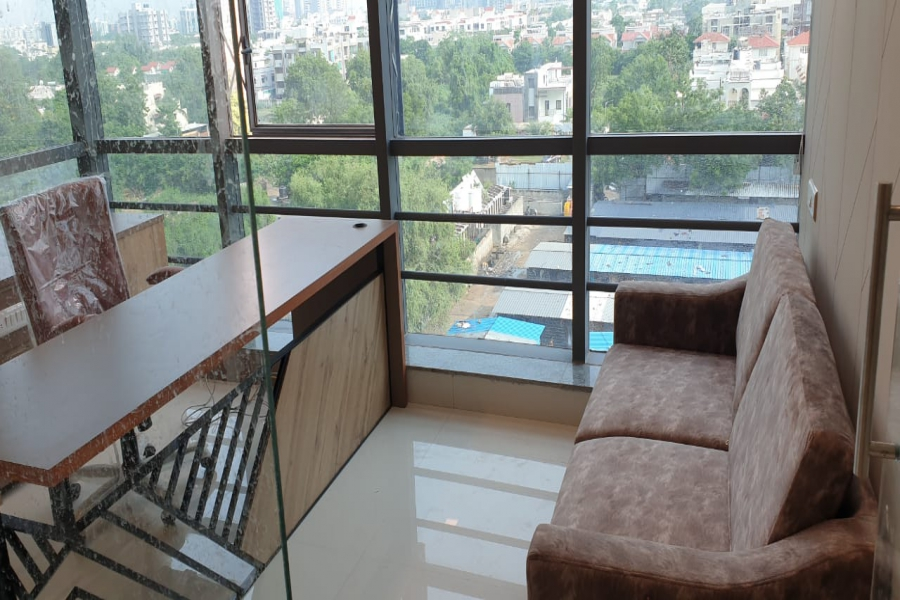 1888 Sq.Ft Furnished Office For Rent in Times Square 1,Thaltej, Ahmedabad.