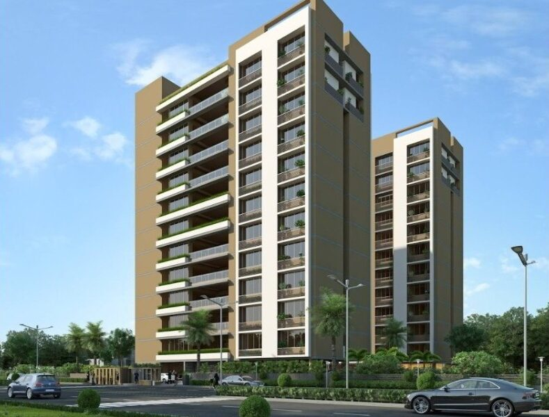 4 & 5 BHK Flats For Sale In The North, Ambli Ahmedabad.
