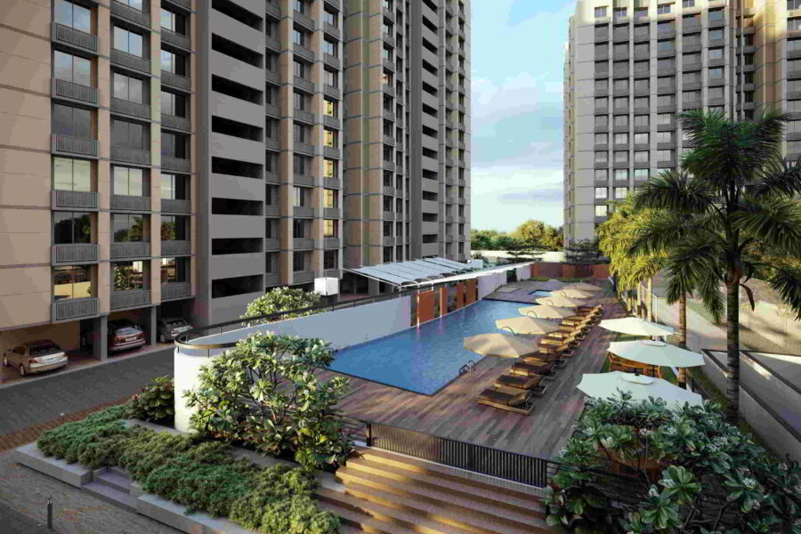 2BHK & 3 BHK Flats For Sale In Orchid Sky, Shela, Ahmedabad.