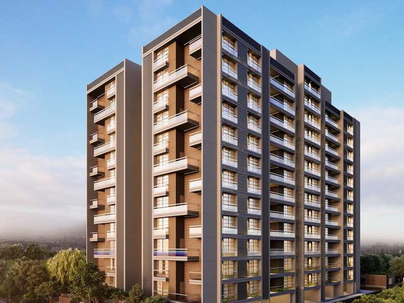 4BHK & 5BHK Flats For Sale In Riviera One, Prahlad Nagar, Ahmedabad.