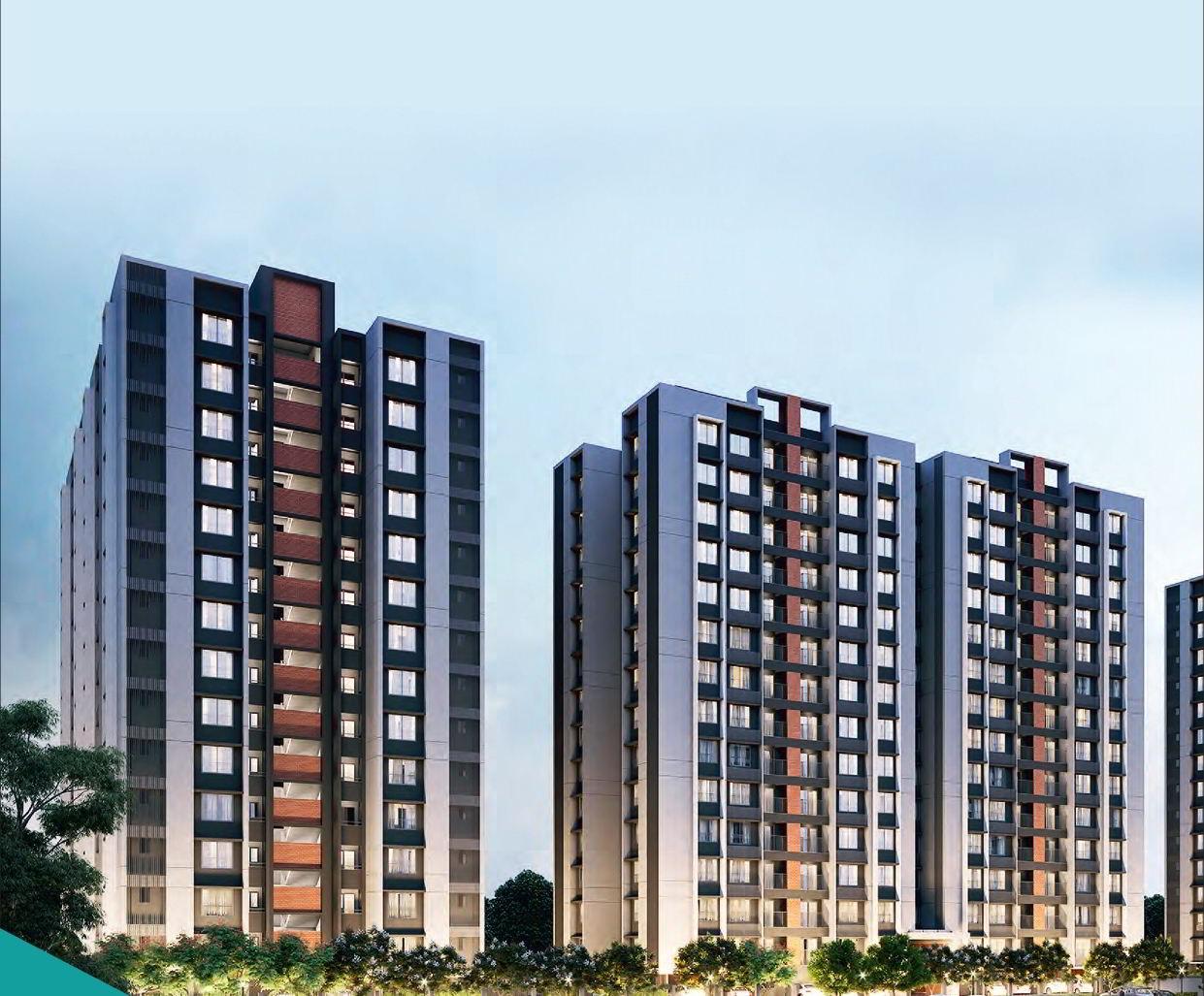 2 & 3 BHK Flat For Sale In Adani Amogha Vaishnodevi Ahmedabad.