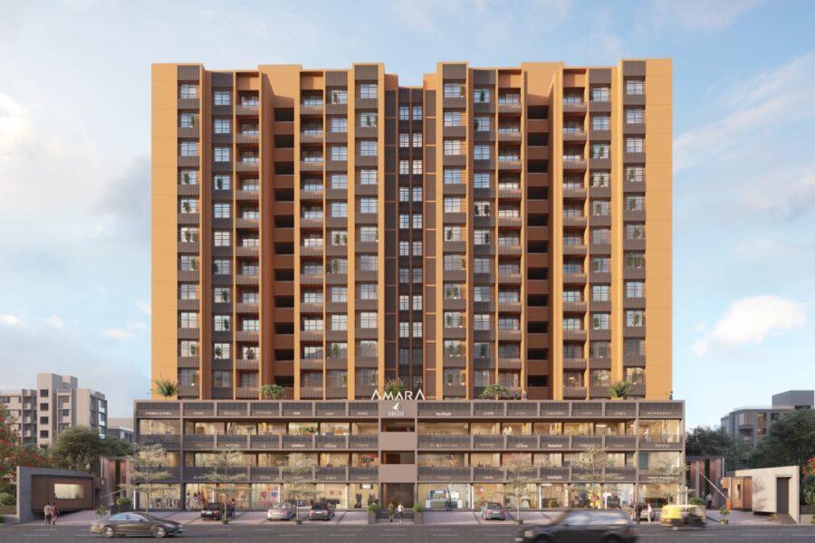 2 & 3 BHK Luxurious Apartment Flat For Sale In Kavisha Amara Shela Ahmedabad.
