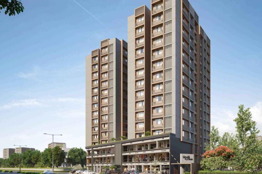 4 BHK Apartment For Sale In Shivalik Platinum, Bodakdev, Ahmedabad.